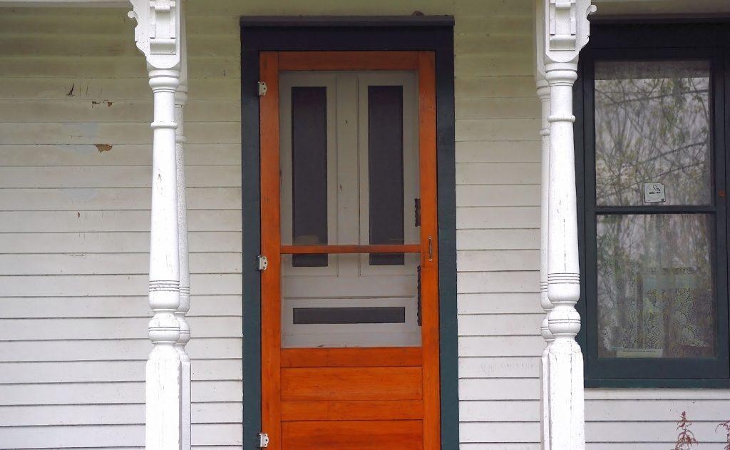 automatic door opener storm/screen doors