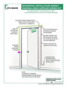 residential installation wiring diagram